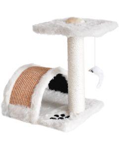 Klösmöbel med sisalbro och leksak