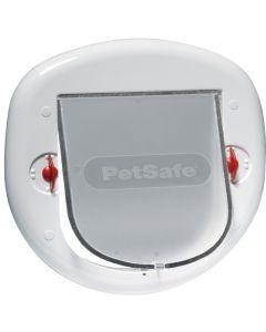 Stor hund eller kattlucka med 4-vägs låsning