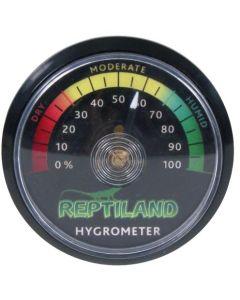 Analog hygrometer som mäter luftfuktigheten
