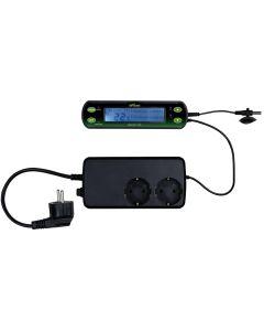 Digital termostat som mäter och kontrollerar temperaturen