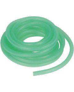Grön silikonslang för luftpumpar och dekorationer