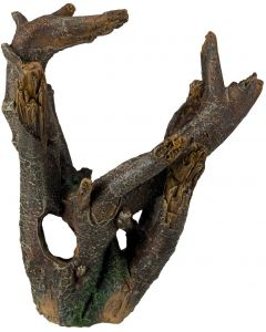 Naturtrogen trädrot med gömställen