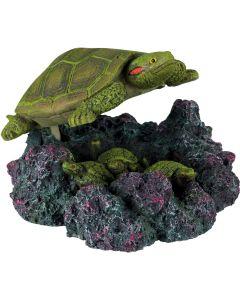 Sköldpadda med luftanslutning