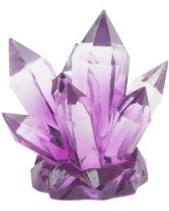 Fin kristalldekoration som fångar ljuset