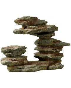 Dekorativt stenblock med naturligt utseende