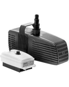 Effektiv pump med förfiltrering till stora dammar