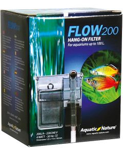 Effektivt ytterfilter för sötvatten akvarium