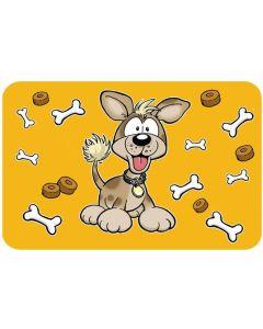 Matskålsunderlägg hundmotiv