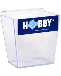 Transparent fisk försäljningsbehållare
