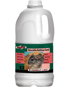 Finkornig badsand för gerbil och chinchilla