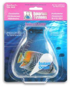 Lättanvänd saltmätare för varmvattensakvarium