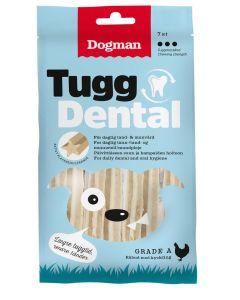 Dogman TuggDental Kyckling 7p. Plackreducerande stix för daglig tand- & munvård.