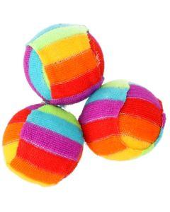 Maxi-Mix Leksak Color Boll 1st. Regnbågsboll med rassel.