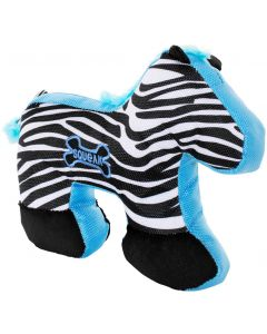 Dogman Leksak Wild Zebra 29cm. Fräsig hundleksak i hållbar canvas.