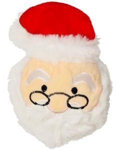 Dogman Julboll Jultomte 14cm. Söt jultomte med gummiboll och pip.