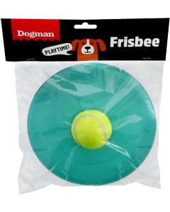 Dogman Frisbee Duo Apport. Hundfrisbee med tennisboll.