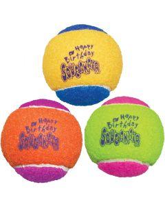 Födelsedagsbollar med pip ljud