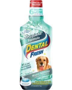 Ge hunden fräsch andedräkt från dricksvattnet