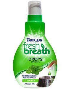 Munvatten för fräschare andedräkt utan tandborste.