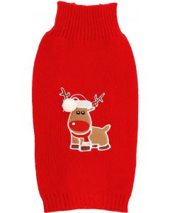 Dogman Jultröja Hund 20cm. Fin stickad jultröja till hund.