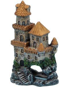 Litet slott med fina guld detaljer