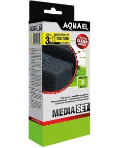 Aquael Sponge Unif. 750/1000. Filterpatroner till Unifilter UV 750 & 1000.
