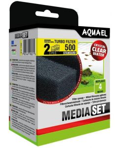 Aquael Sponge Turbo 500. Filtersvampar till Turbo Filter 500.