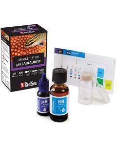 Titreringstest och kolorimetritest för pH och KH