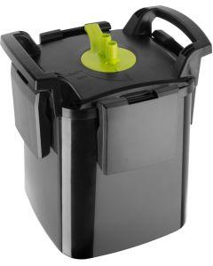 Aquael Maxi Kani 250. Ytterfilter med fristående pump och filterkapsel.