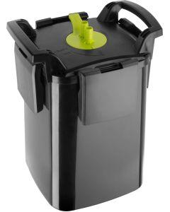 Aquael Maxi Kani 350. Ytterfilter med fristående pump och filterkapsel.