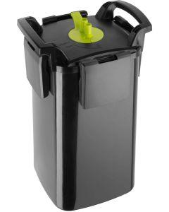 Aquael Maxi Kani 500. Ytterfilter med fristående pump och filterkapsel.