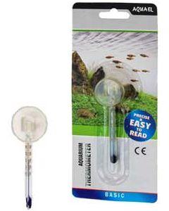 Liten kompakt termometer av glas