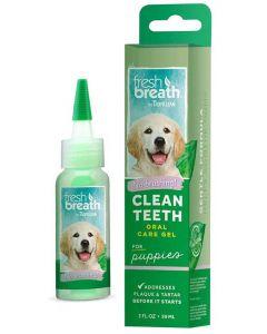 Tandgel för valp som rengör utan tandborste