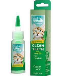 Tandgel för katt som rengör utan tandborste