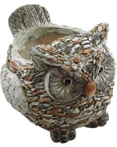 Utomhuskruka Uggla med granit