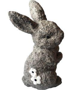 Kanin dekoration för trädgård och uteplats