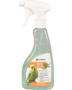 Flamingo Bird Shower 500ml. Duschspray som rengör och vårdar fjädrarna.
