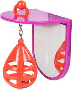 Flamingo Bird Toy Punch Ball. Spegel med bjällra i boxboll.