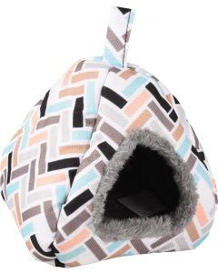 Flamingo. Hamster Igloo Clavio 13cm. Bekväm sovplats som håller ditt smådjur trygg och varm.