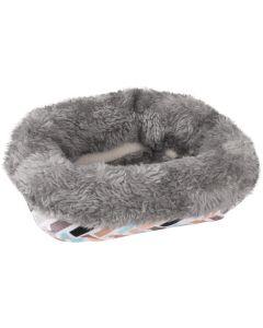 Flamingo. Hamsterbädd Clavio 15cm. Mysig och bekväm sovplats som håller ditt smådjur varm.