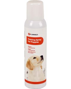Flamingo. Puppy Training Spray. Valpträningsspray för att få hunden rumsren.