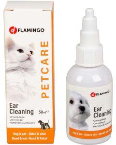 Flamingo. Petcare Ear Cleaning. Öronrengöring till hundar och katter.