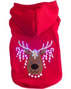 Christmas Flashing Sweater 35. Fin jultröja med dekorativt LED ljus.
