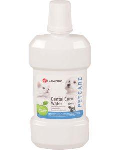 Flamingo. Dental Care Water Äppelsmak. Tandvårdsvatten till hund och katt.