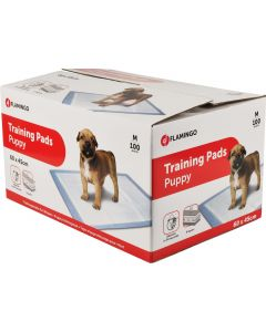 Puppy Training Pads 60x45 100p. Storpack med absorberande underlag.