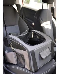 Flamingo Bilsits Ida 44x34cm. Bilsits och väska i en produkt.