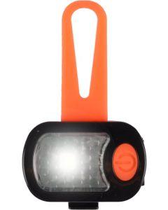 Flamingo. Safety Light Blinkis Silikon. Reflexlampa till hunden eller kattens halsband, sele eller koppel.