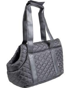 Flamingo. Väska Bailey Svart 38cm. Elegant väska med öppet kikhål för huvudet.
