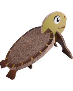 Klösbräda Wellpapp Sköldpadda. Klösbräda med lekfull djurdesign.