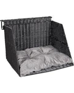 Radiator Basket Lusso 46x42 cm. Värmande elementkorg med höga sidor.